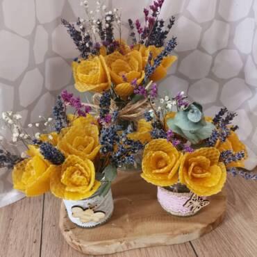 Květiny z vosku